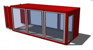 3d Container T
